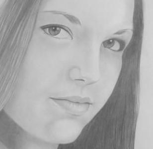 Girl Drawing - Debra  by Suzan Tisdale