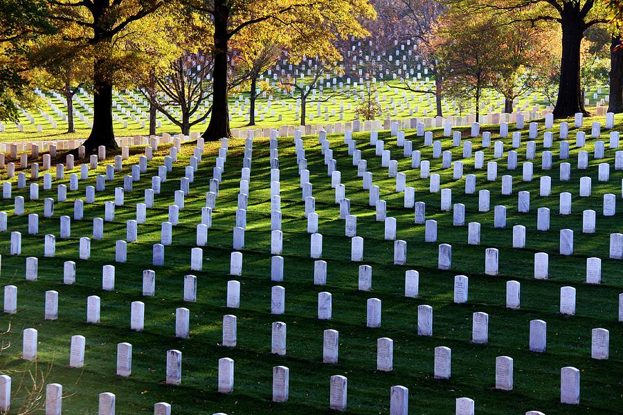 Cemetery Photograph - Debt Of Gratitude by Mitch Cat