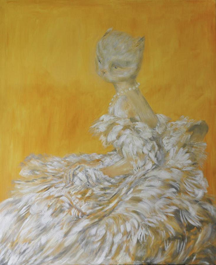 Inspirational Painting - Jenny As A Debutante by William Marazzi