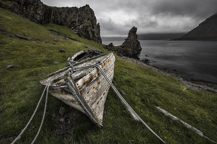 Landscape Photograph - Decay by Bragi Ingibergsson -