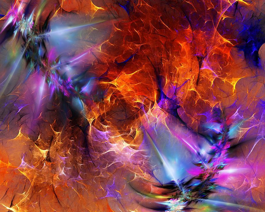 Abstract Digital Art - Decent by David Lane