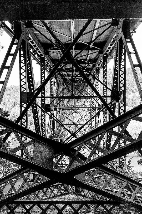 Deception Pass Bridge by Frank Winters
