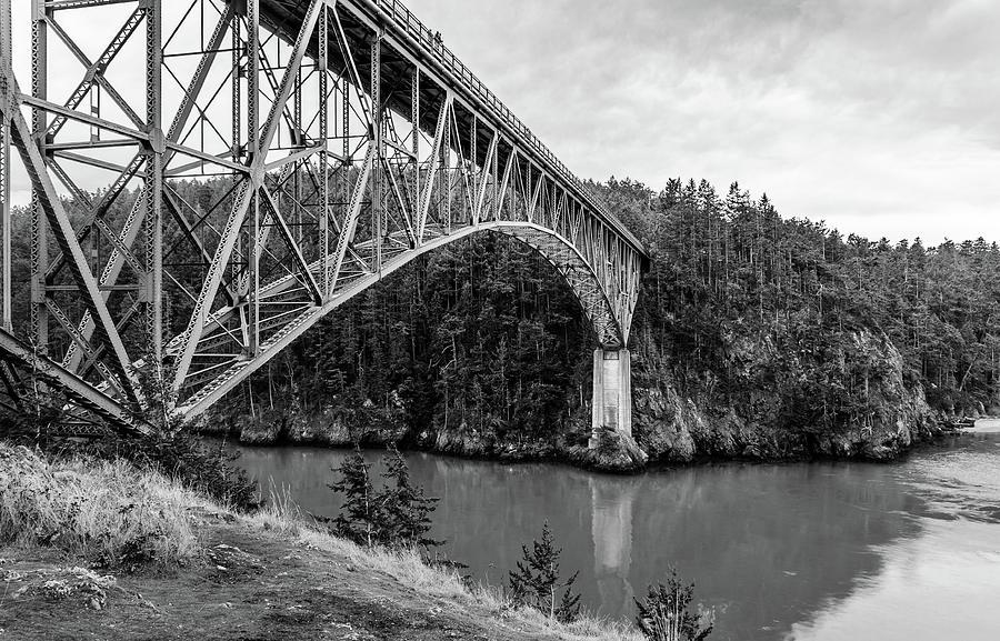 Deception Pass Bridge Photograph