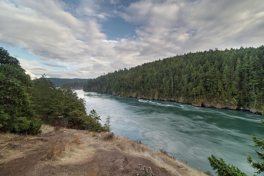 Deception Pass Photograph - Deception Pass State Park by David Gn
