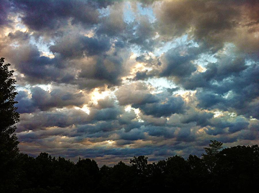 Clouds Photograph - Deceptive Clouds by Cricket Hackmann