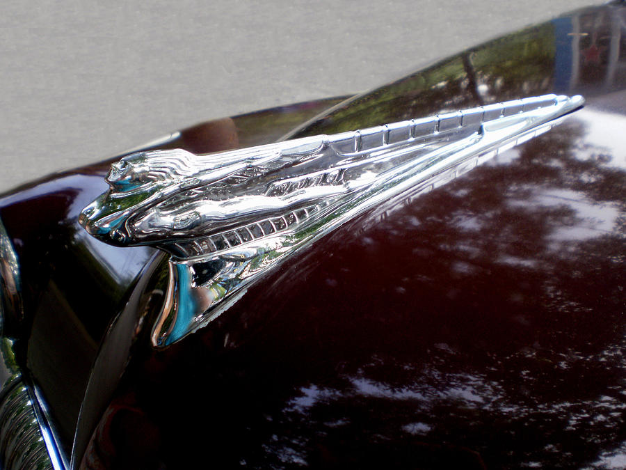 Cars Photograph - Deco Desoto by Jan Amiss Photography