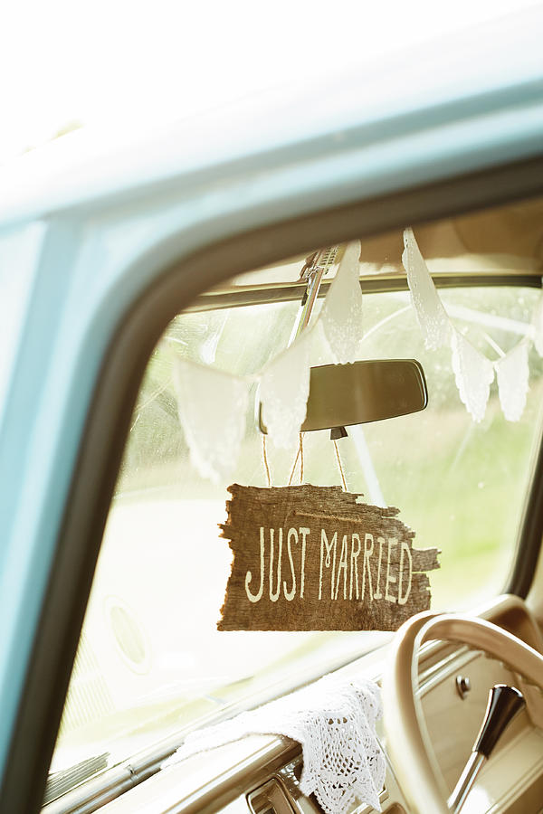 Decorated Car Interior With Wooden Just Photograph by Gillham Studios