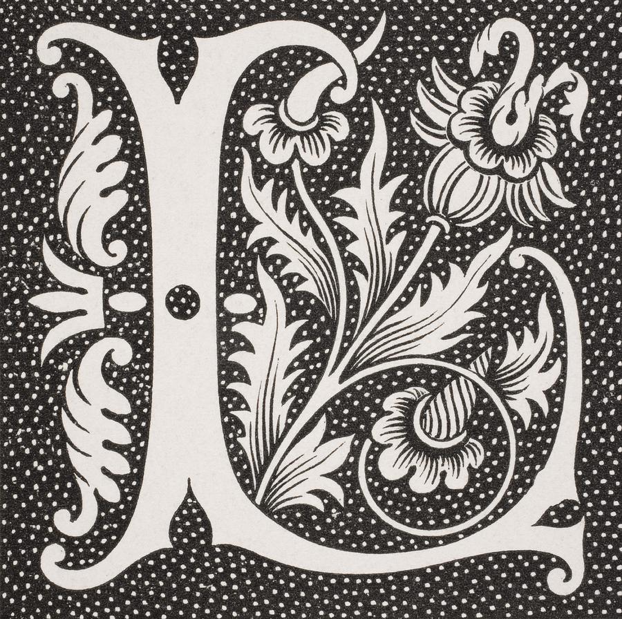 Image result for decorative L