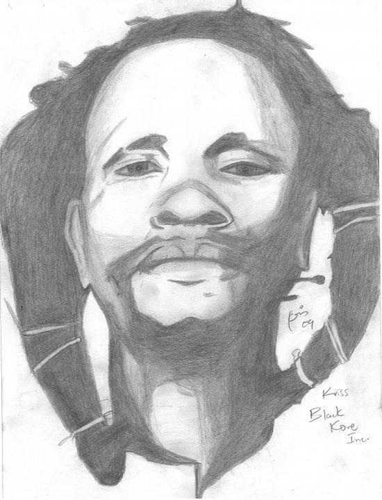 Dedan Kimathi Drawing by Chris Gitau