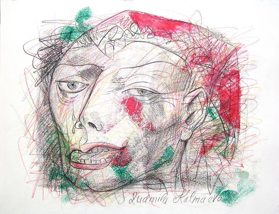 Art Work Mixed Media - Dedicated To Michael Jackson by Ludmila Kalmaeva