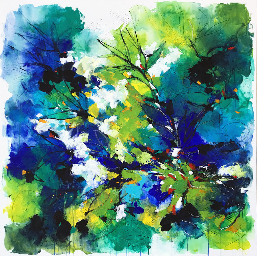 Blue Painting - Deep blue by Alessandro Andreuccetti