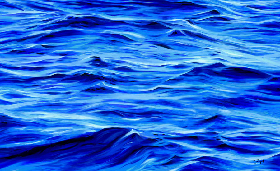 Deep Blue by Sue  Brehant