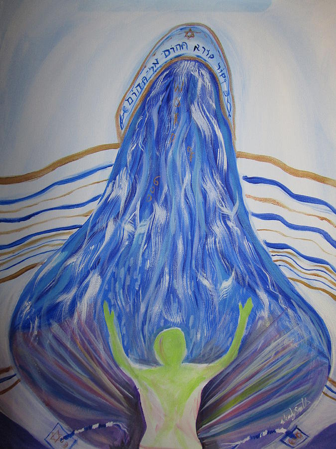 Deep Calls To Deep Painting - Deep Calls To Deep by Wendy Smith