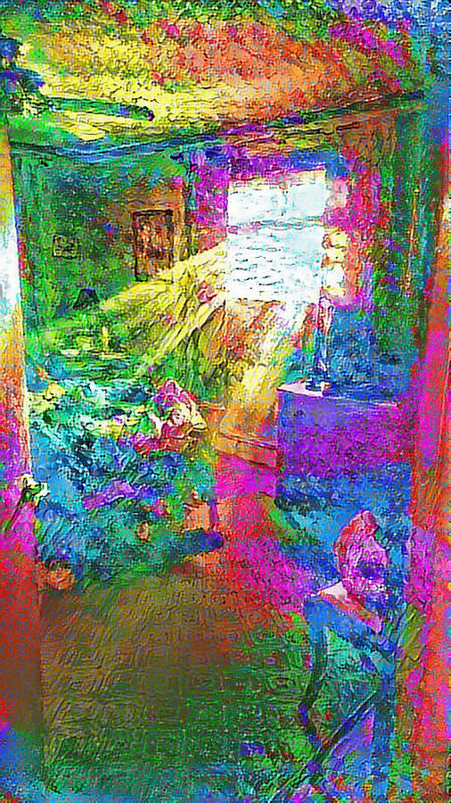 Deep Dream Digital Art by Doug Schramm