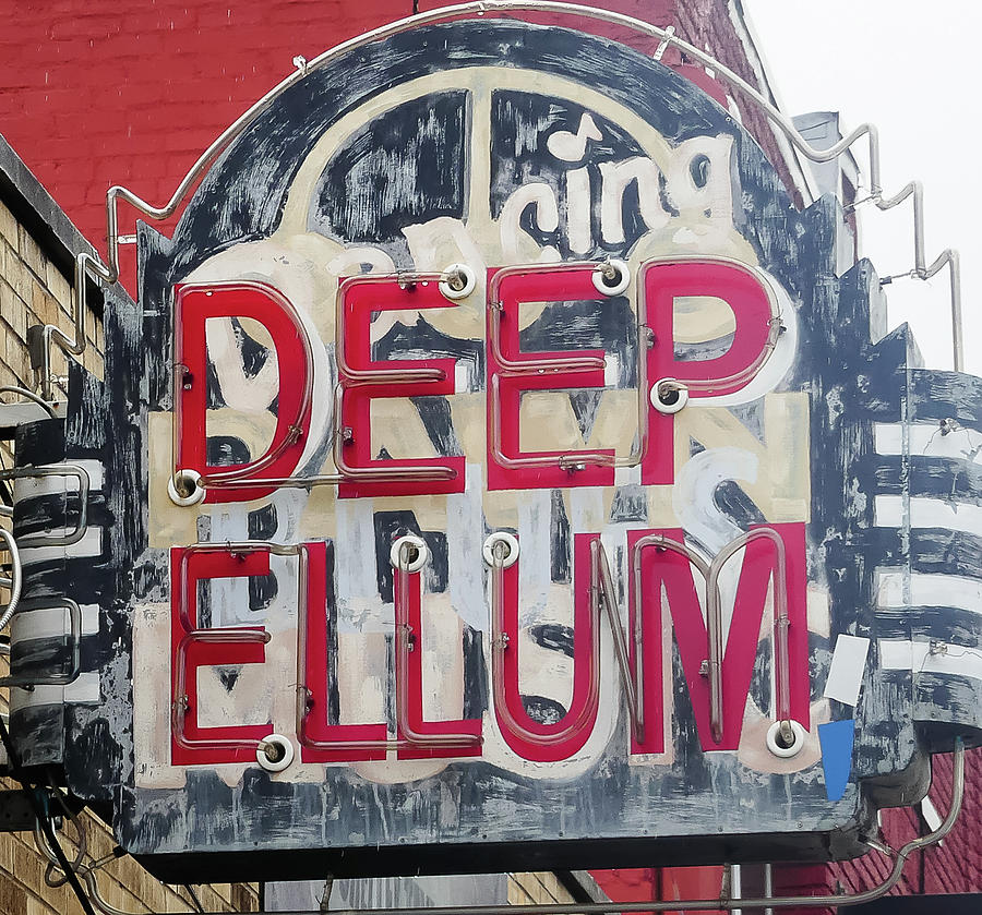 Deep Ellum Dallas Texas by Robert Bellomy