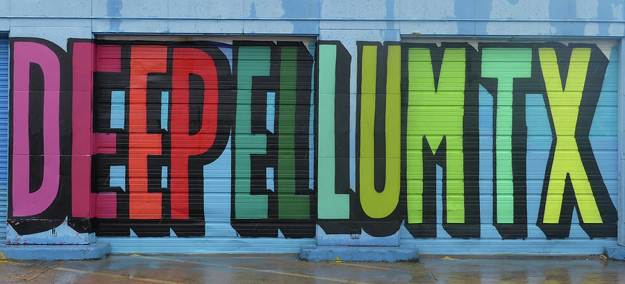 Deep Ellum Wall Art by Robert Bellomy