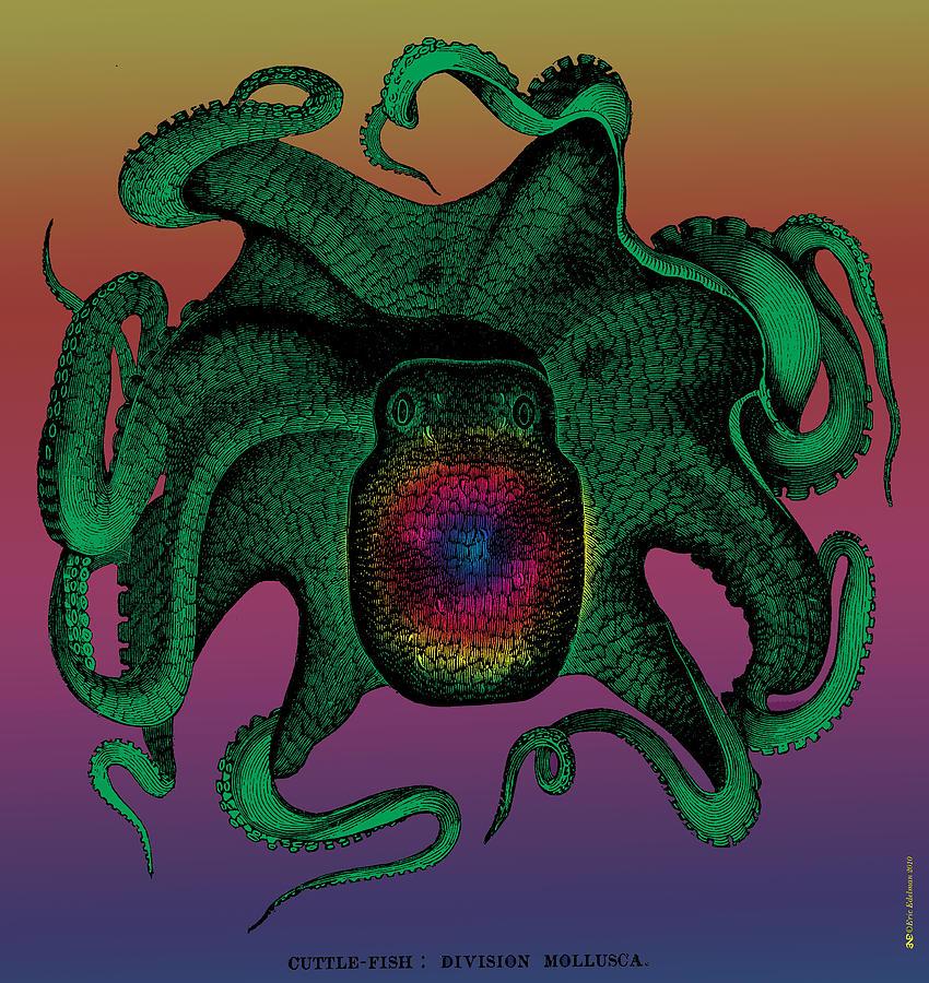 Digital Art - Deep Monster Number Two by Eric Edelman