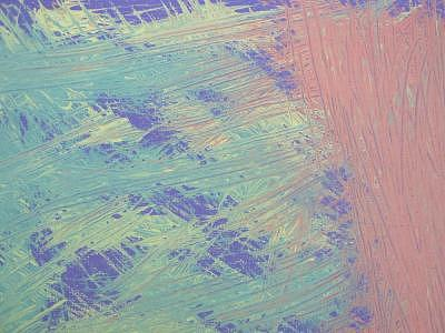 Abstract Painting - Deep Scratches by Diane Oliver