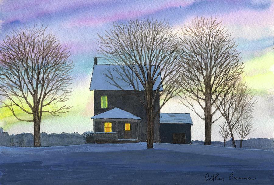 Deep Snow 2003 Painting