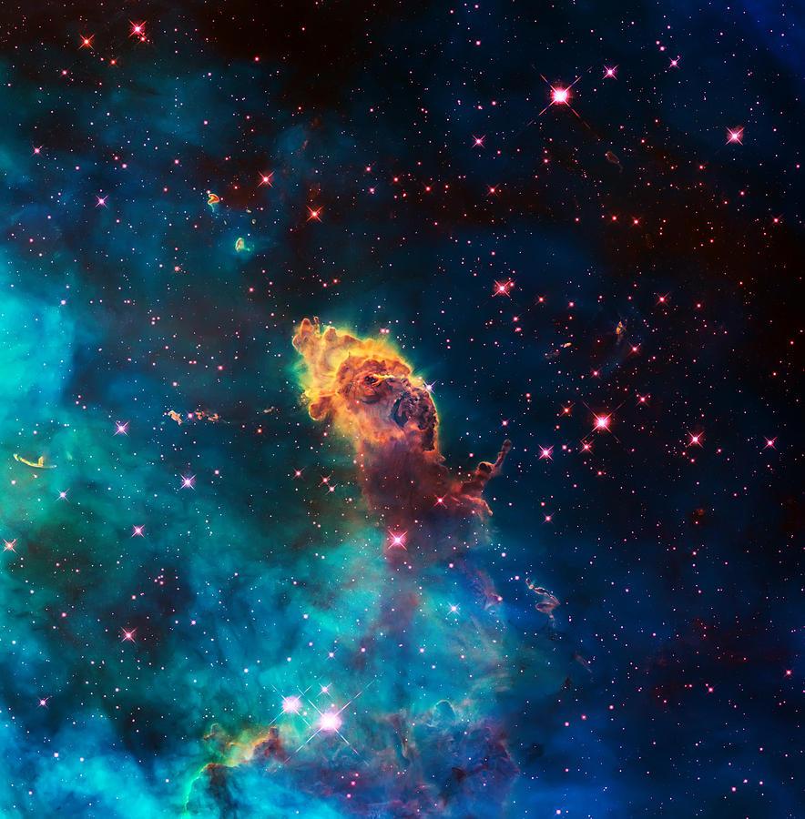 Nebula Photograph - Deep Space Smoke by Jennifer Rondinelli Reilly - Fine Art Photography