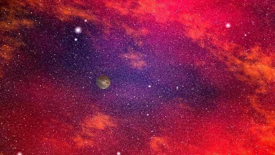 Deep Space view Digital Art by Robert aka Bobby Ray Howle