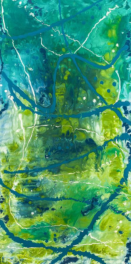 Abstract Painting - Deep Within by Dianne Bartlett