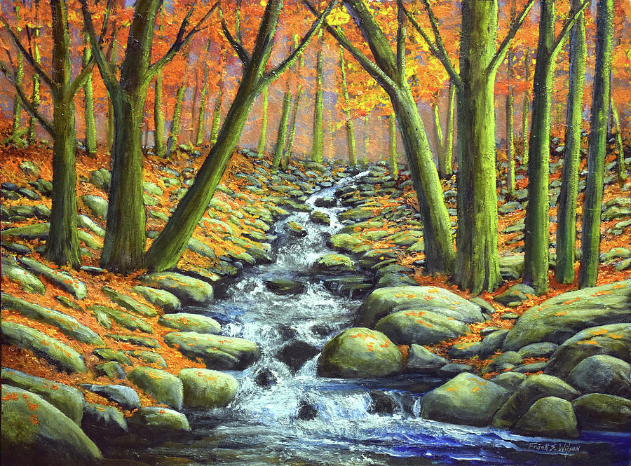 Deep Woods Brook by Frank Wilson