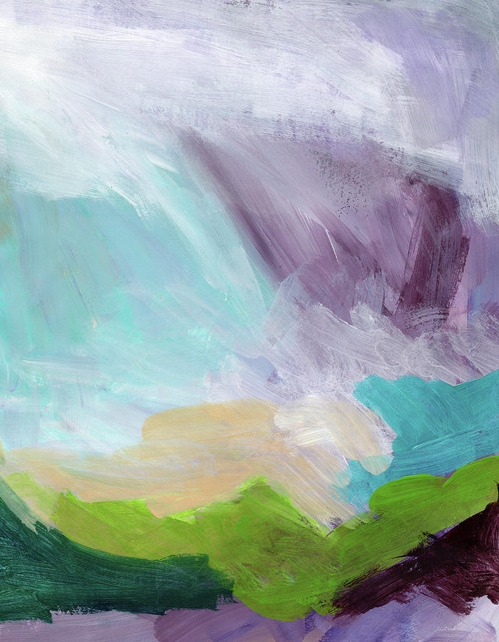 Abstract Painting - Deepest Breath- Abstract Art By Linda Woods by Linda Woods