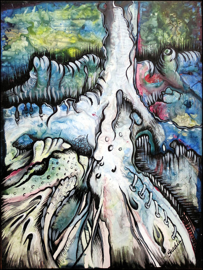 Deeply Rooted IIi Painting