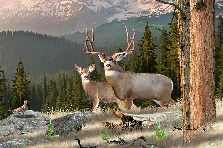 Whitetail Deer Art By Dale Kunkel Official Site