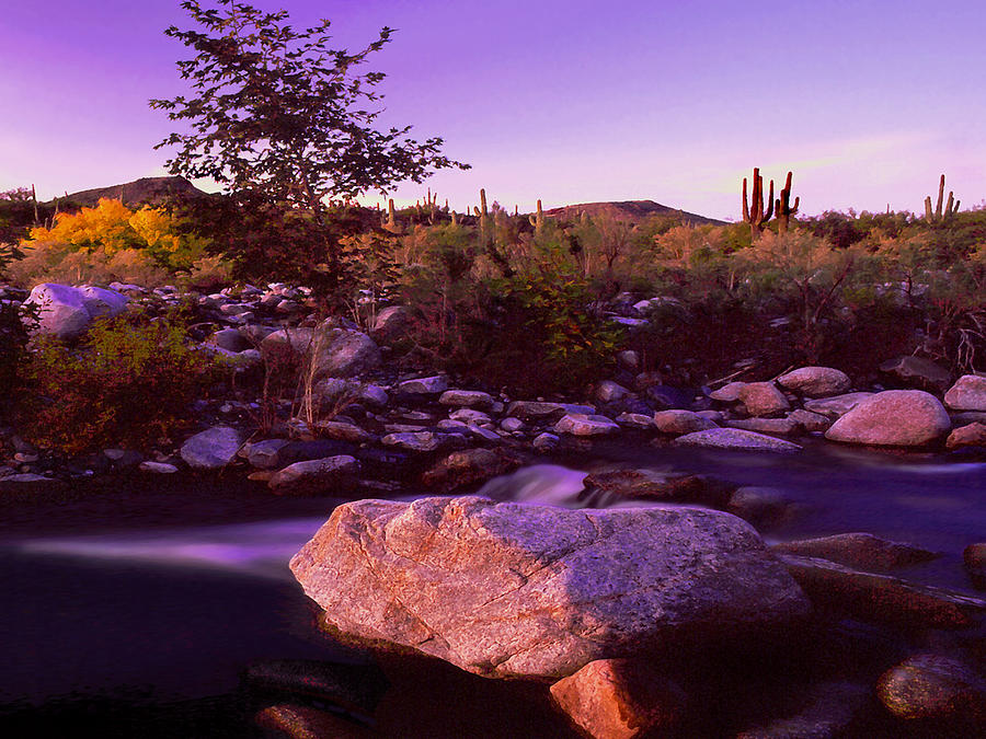 Creeks Photograph - Deer Creek Afterglow by Dean Uhlinger