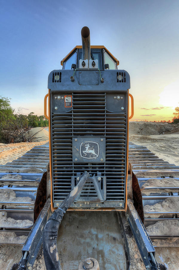 John Deere Photograph - Deere Heavy Equipment  by JC Findley