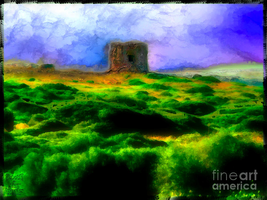 Tower Photograph - Defense Tower by Dee Flouton