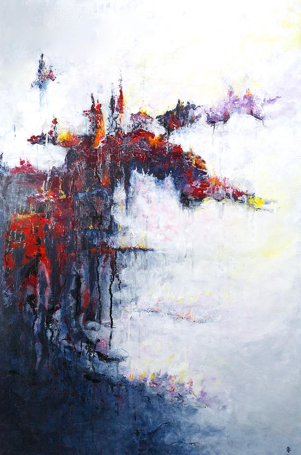 Abstract Painting - Defining Moments by Jenny Bagwill