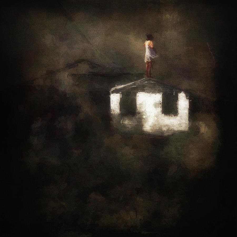 Wind Digital Art - Defy by Melissa D Johnston