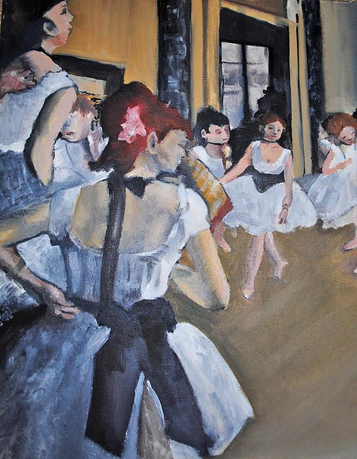 Degas Painting - Degas by Adam Austin