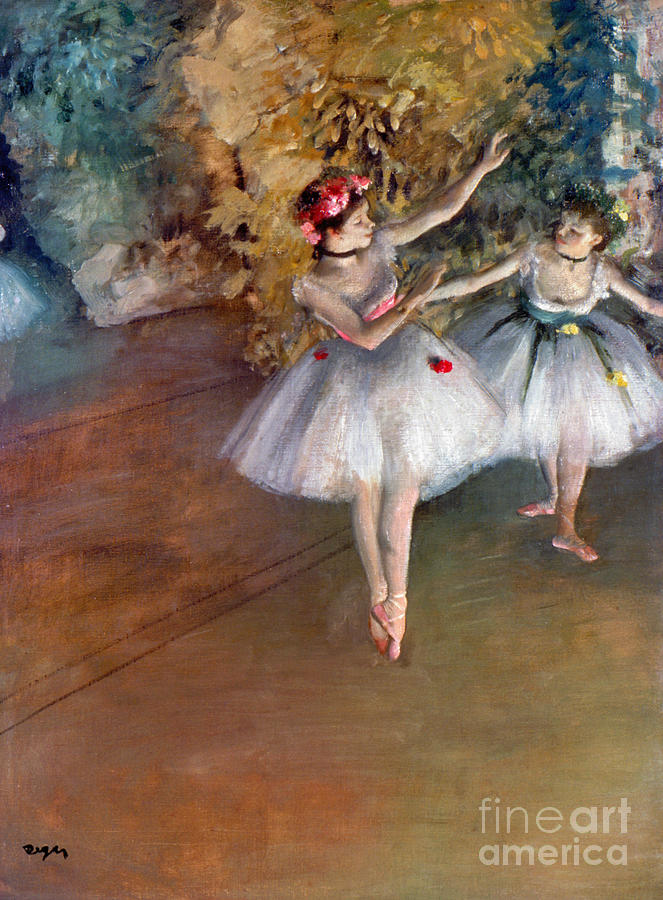 1877 Photograph - Degas: Dancers, C1877 by Granger