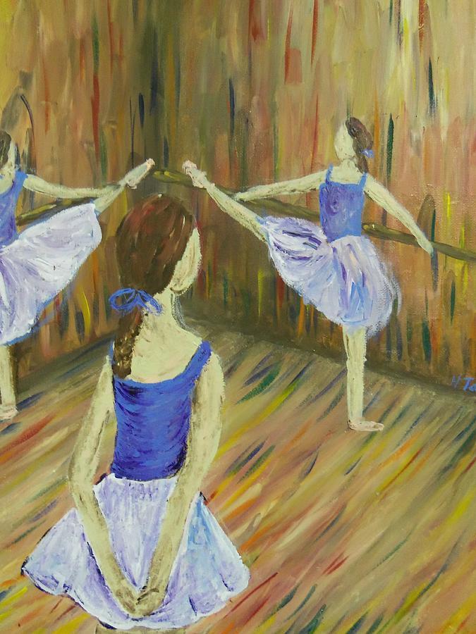 Degas Dancers Painting