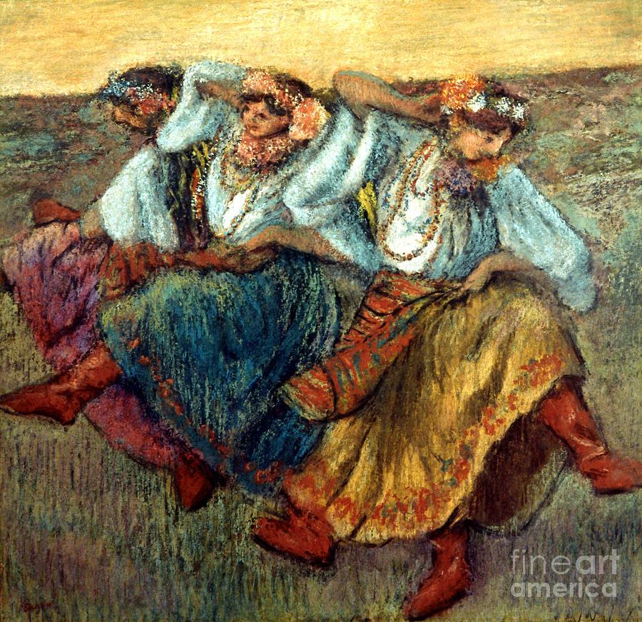 19th Century Photograph - Degas: Dancing Girls, C1895 by Granger