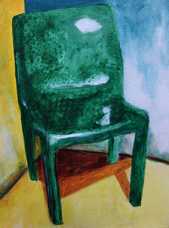 Furniture Painting - Degrazia Chair by Kitty Schwartz