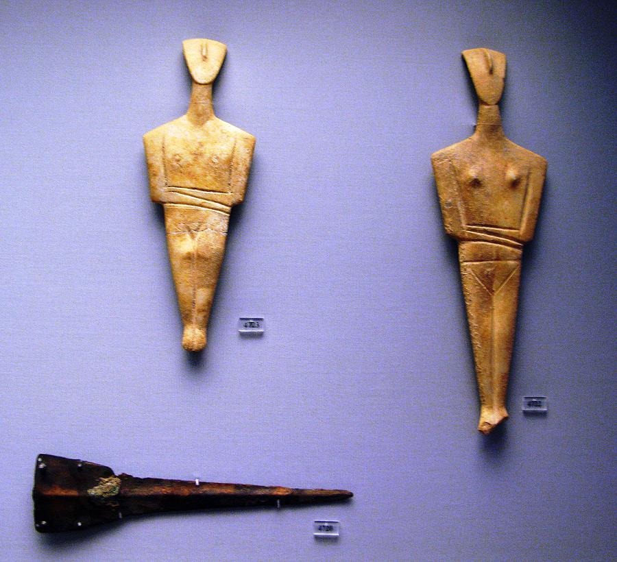 Dekathismata Figurines Photograph