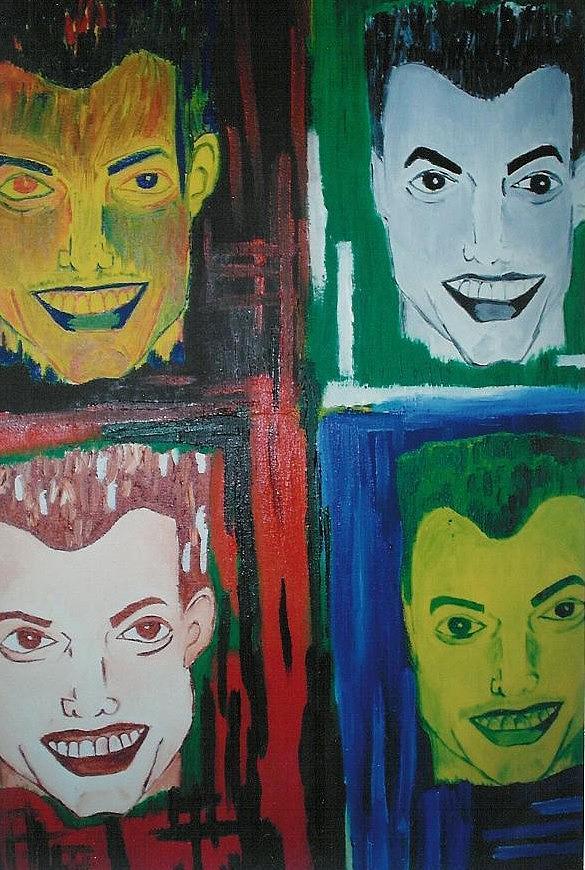Male Painting - Dekon by Nique Chalarca