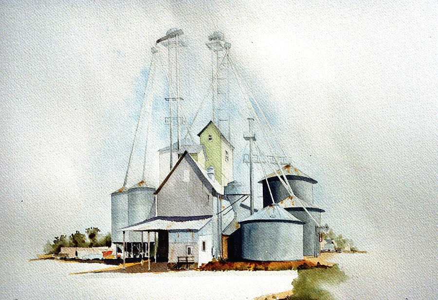 Delaware Painting - Delaware Grain by William Renzulli