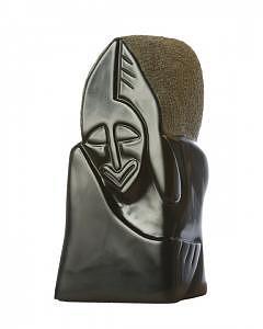 Stone Sculpture Sculpture - Deliberation by Shaine Lewthwaite