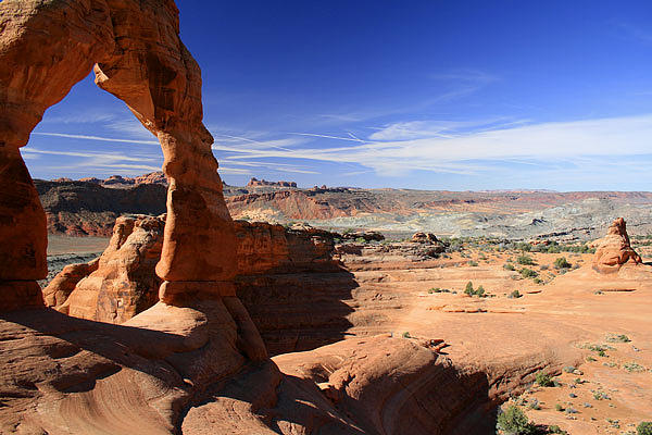 Desert Photograph - Delicate Arch Arches National Park Utah by Mike Malandra