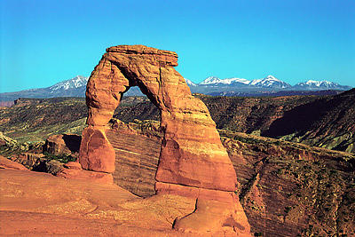 Landscape Photograph - Delicate Arch by Gene Mace