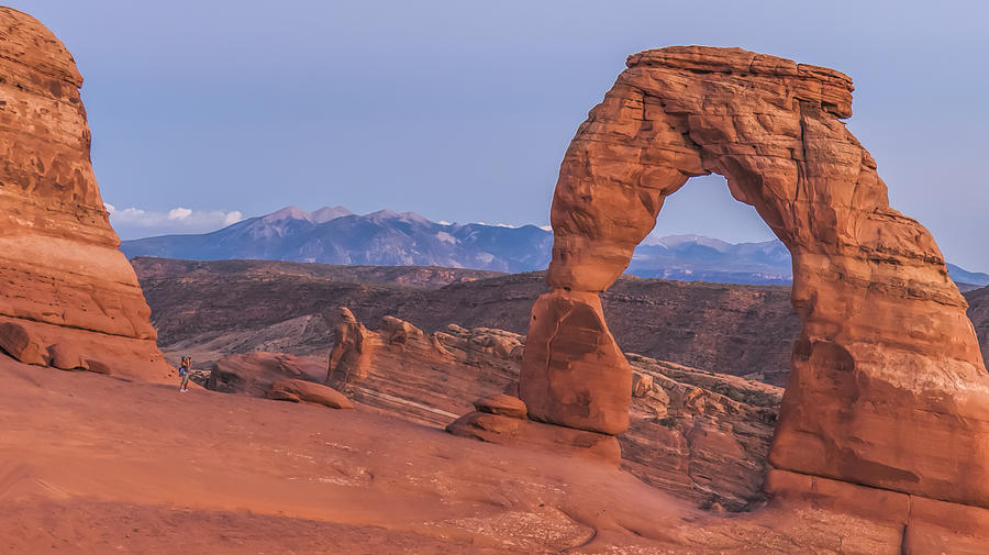 Delicate Arch  Photograph by LOsorio Photography
