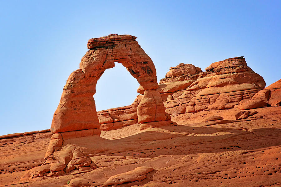 Landscape Photograph - Delicate Arch The Arches National Park Utah by Christine Till