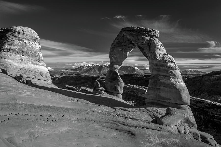 Delicate arch photograph delicate arch utah in black and white by pierre leclerc photography