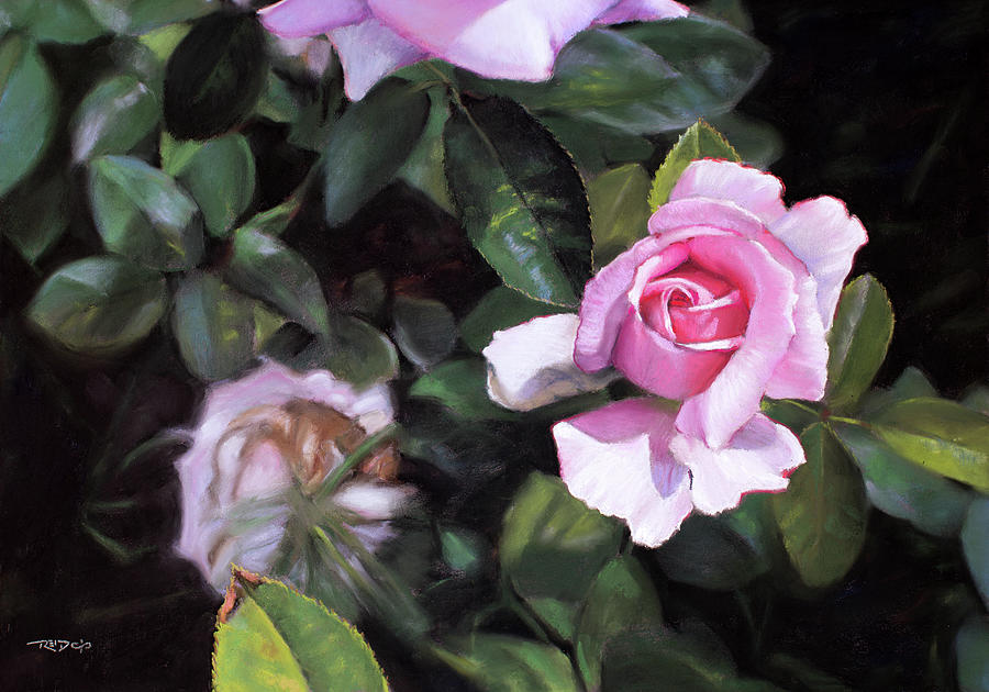 Delicate Painting - Delicate by Christopher Reid